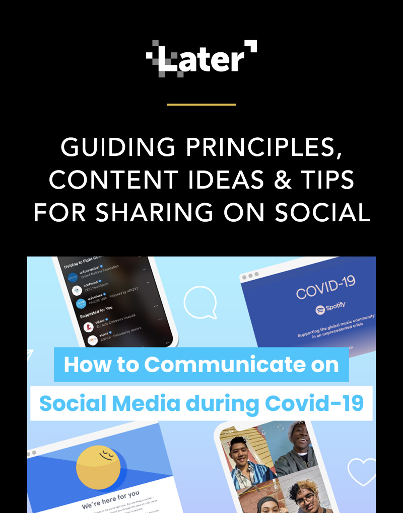 How to Communicate on Social Media during Covid-19
