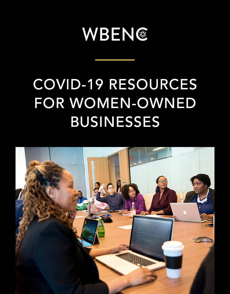 WBENC Covid-19 Resources For Women-Owned Businesses